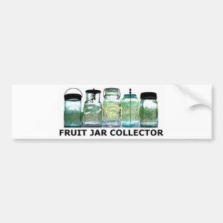 Fruit Jar Collector Antiques Vintage Mason Jars Bumper Sticker