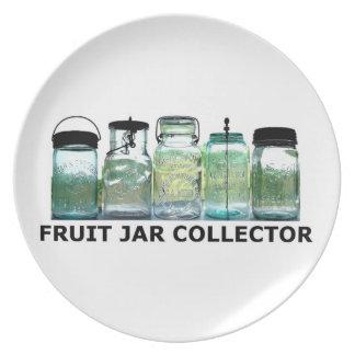 Fruit Jar Collector Antiques Vintage Mason Jars Melamine Plate