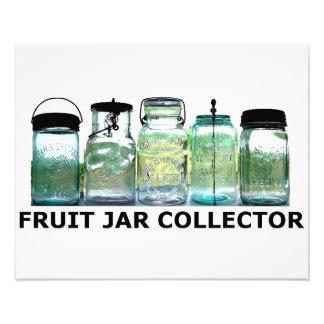 Fruit Jar Collector Antiques Vintage Mason Jars Photo Print