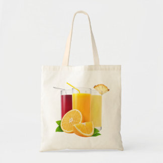 Fruit juices tote bag