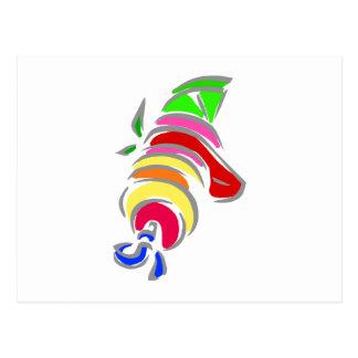 Fruit Kebobs Postcard