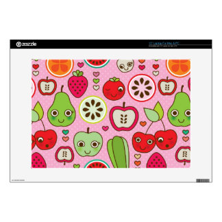 fruit kitchen illustration pattern laptop decal