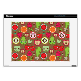 Fruit Kitchen Pattern Decal For Laptop