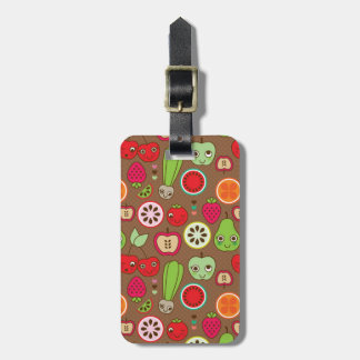 Fruit Kitchen Pattern Luggage Tag
