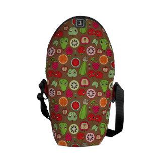 Fruit Kitchen Pattern Messenger Bag