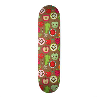 Fruit Kitchen Pattern Skate Deck