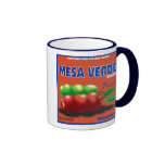Fruit label mug