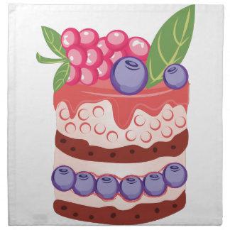 Fruit Layer Cake Napkin