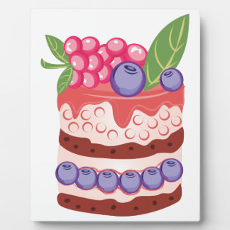 Fruit Layer Cake Plaque