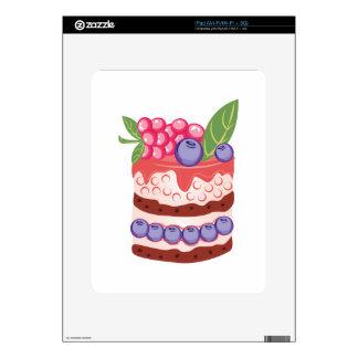 Fruit Layer Cake Skin For iPad