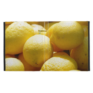 Fruit Lemons iPad Case