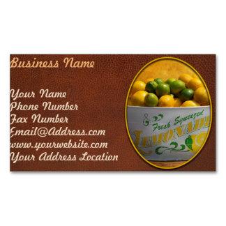 Fruit - Lemons - When life gives you lemons Magnetic Business Card