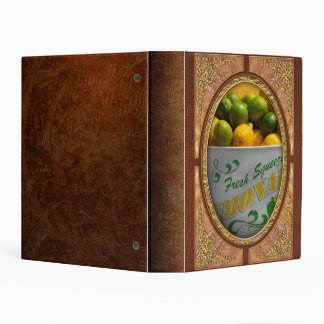 Fruit - Lemons - When life gives you lemons Mini Binder