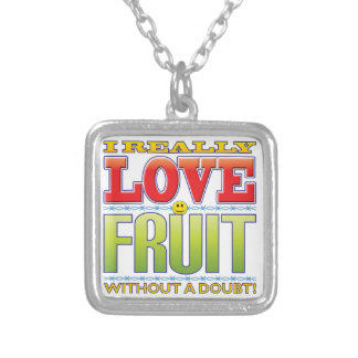 Fruit Love Face Personalised Necklace