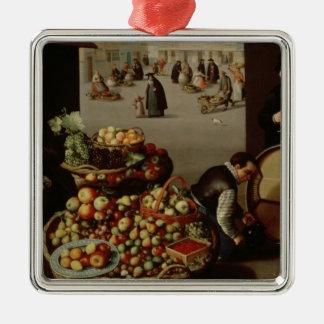 Fruit Market Metal Ornament