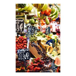 Fruit Market Stationery