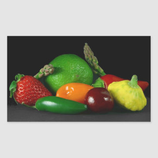 Fruit Medley Rectangular Sticker