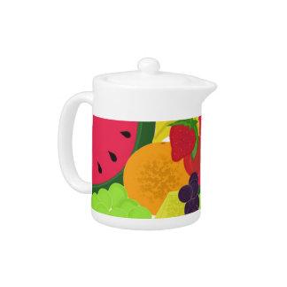 Fruit Medley Teapot