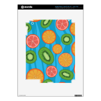 Fruit mood iPad 3 skins