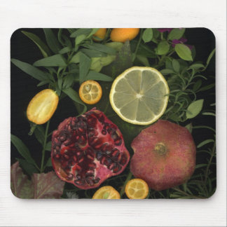 Fruit Mouse Pomegranate and citrus Mouse Pad