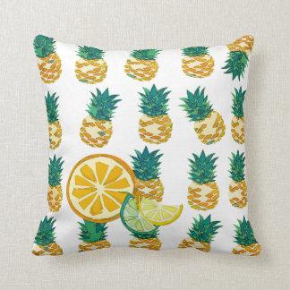 Fruit n' Stuffed Throw Pillow