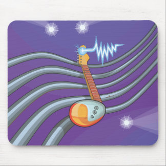 Fruit Notes Guitar Mouse Pad