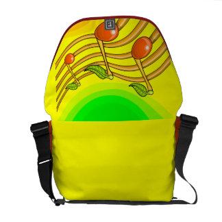 Fruit notes messenger bag