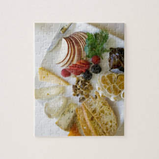 Fruit, Nuts, and Cheese Jigsaw Puzzle