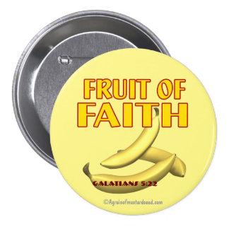 Fruit of Faith 3 Inch Round Button