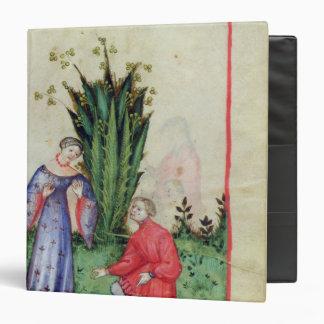 Fruit of Mandrake, from' Tacuinum Sanitatis' 3 Ring Binder