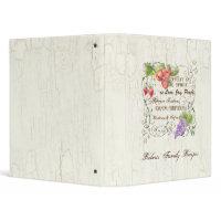 Fruit of Spirit Recipe Family Heritage Binder binder