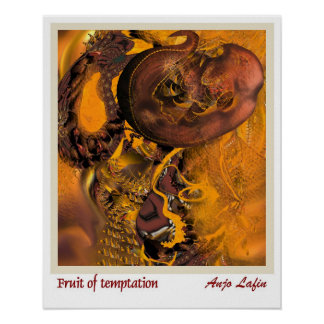 Fruit of temptation by Anjo Lafin Poster