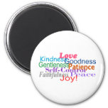 Fruit of the Spirit 2 Inch Round Magnet