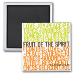 Fruit of the Spirit 2 Inch Square Magnet