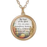 Fruit of the Spirit Bible Verse Pendant