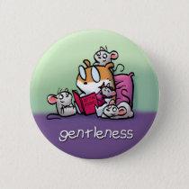 Fruit of the Spirit Button Badge (Gentleness)