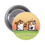 Fruit of the Spirit Button Badge (Goodness)