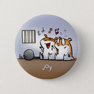 Fruit of the Spirit Button Badge (Joy)