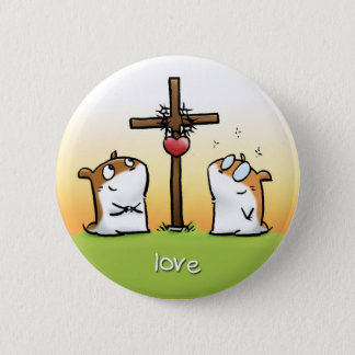 Fruit of the Spirit Button Badge (Love)
