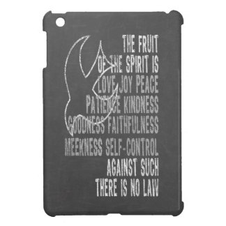 Fruit of the Spirit Chalkboard Look with Dove iPad Mini Covers