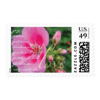 Fruit of the Spirit Christian Love Stamp
