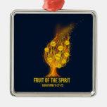 Fruit of the Spirit - Galatians 5:22-23 Metal Ornament