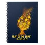 Fruit of the Spirit - Galatians 5:22-23 Notebook