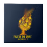 Fruit of the Spirit - Galatians 5:22-23 Tile