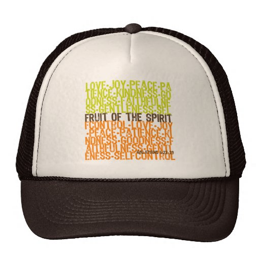 Fruit of the Spirit Hats