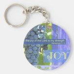 Fruit of the Spirit joy Basic Round Button Keychain