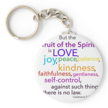 PureJoyShop Fruit of the Spirit Keychain