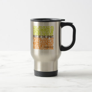 Fruit of the Spirit 15 Oz Stainless Steel Travel Mug