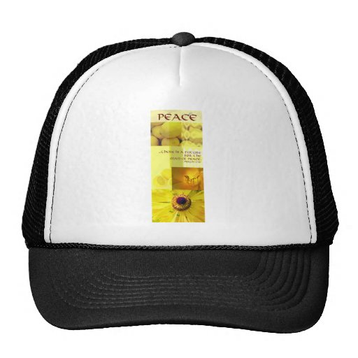 Fruit of the Spirit peace Hats
