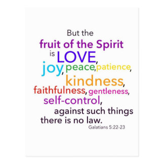 Fruit of the Spirit Postcard